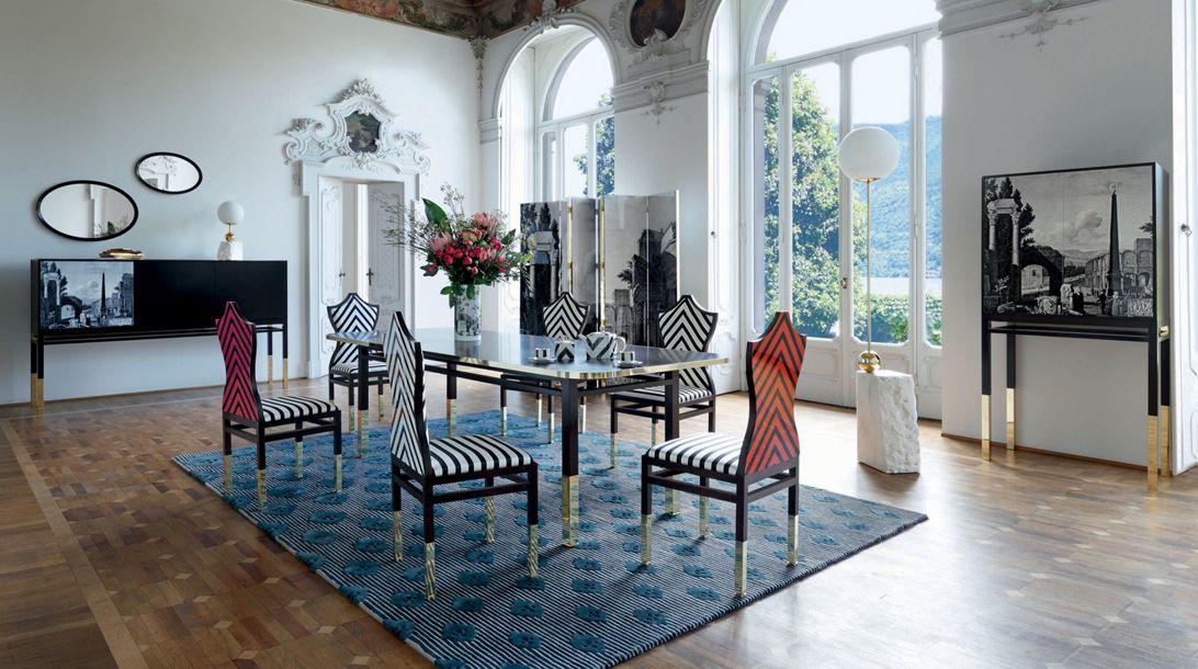 maison lacroix chair nouveaux classiques collection roche bobois. Black Bedroom Furniture Sets. Home Design Ideas
