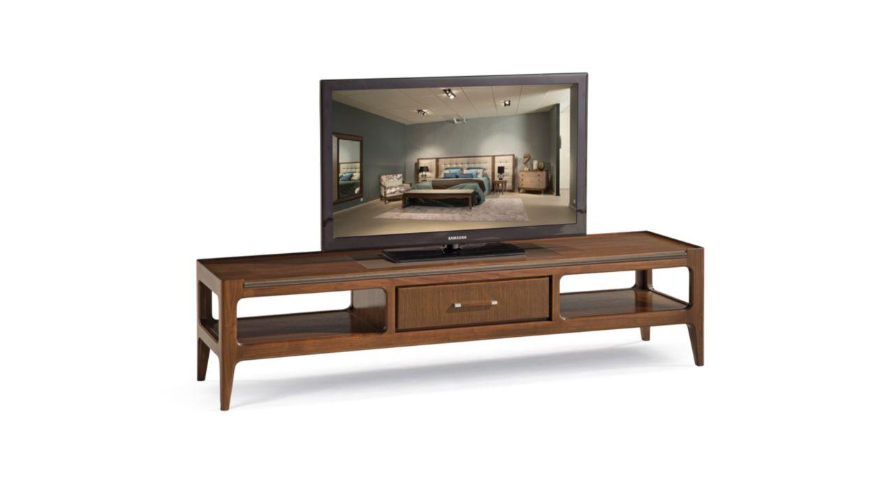 Support tv r pertoire collection nouveaux classiques for Table de television en bois