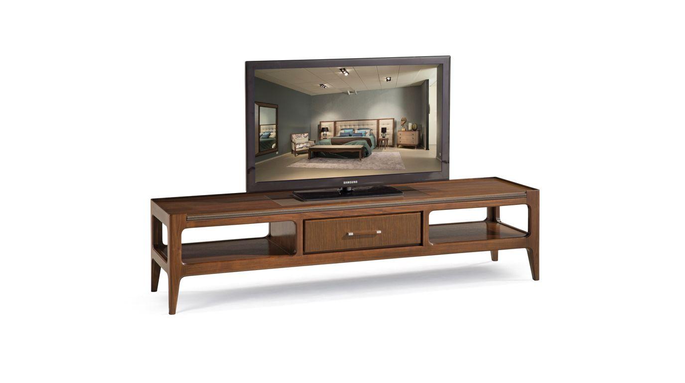 repertoire tv unit nouveaux classiques collection roche bobois. Black Bedroom Furniture Sets. Home Design Ideas