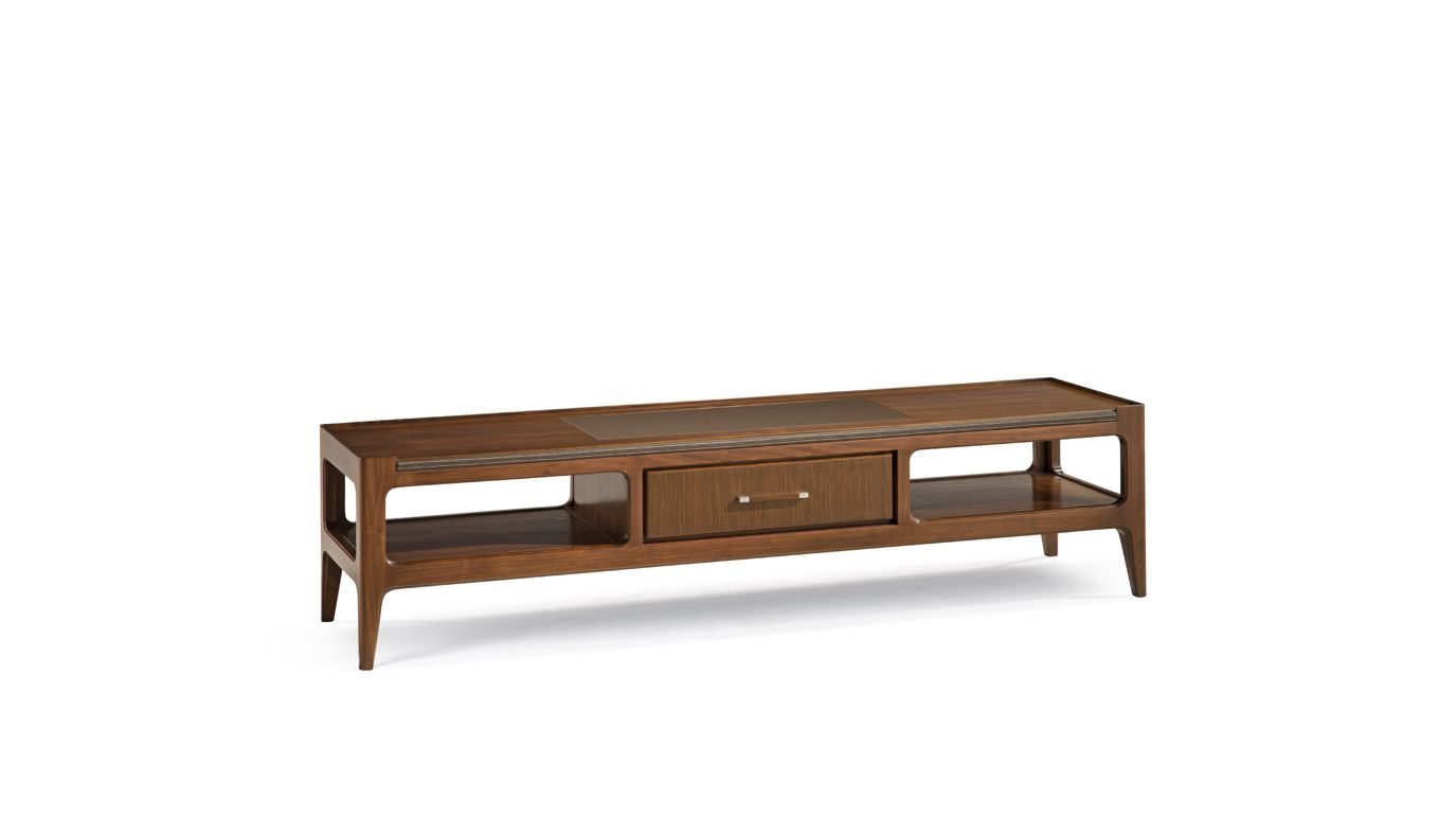 Repertoire bedside table nouveaux classiques collection for Table tv bois