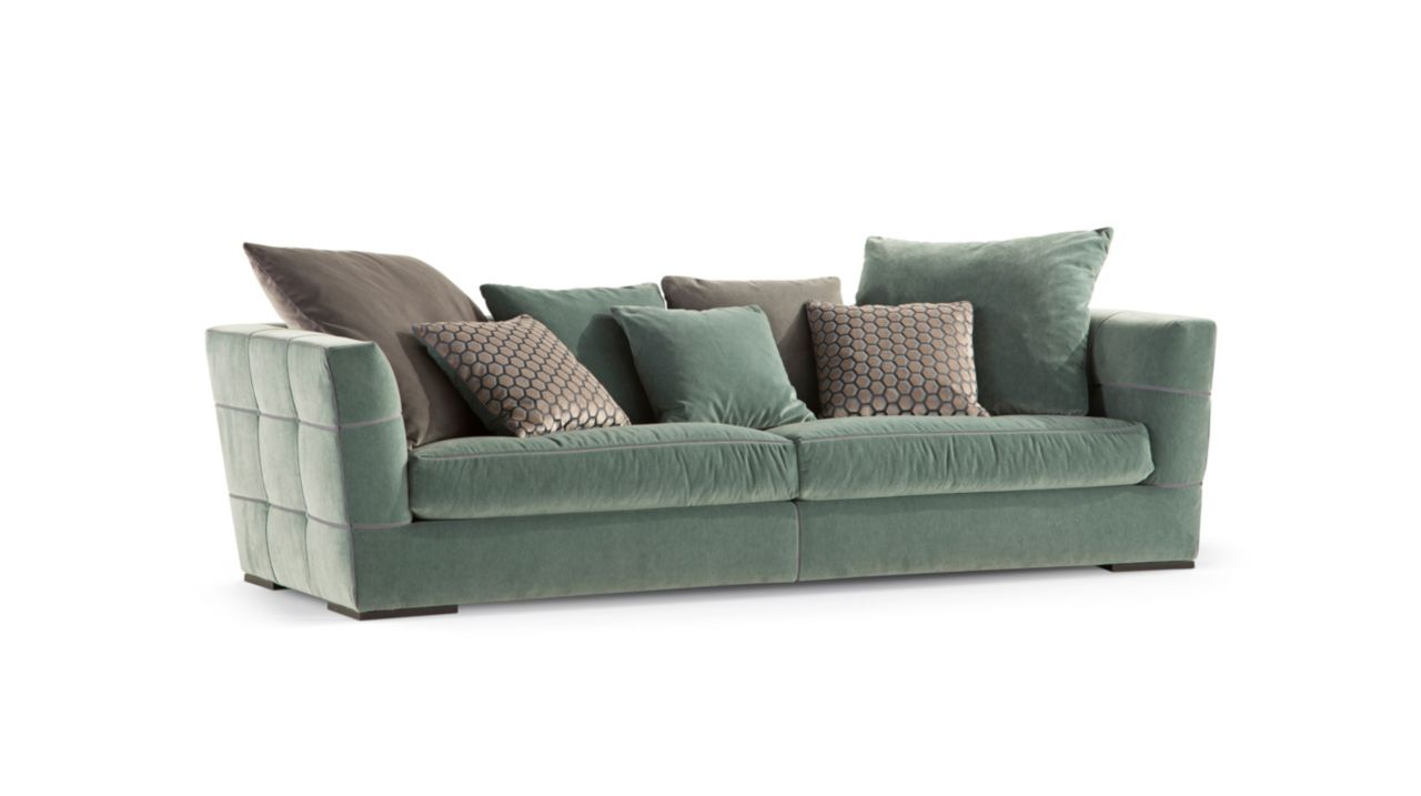 avant premiere divano 4 posti a 2 elementi collezione nouveaux classiques roche bobois. Black Bedroom Furniture Sets. Home Design Ideas