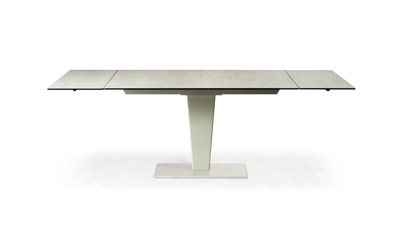 Osiris ceramique dining table roche bobois - Table ovale marbre roche bobois ...