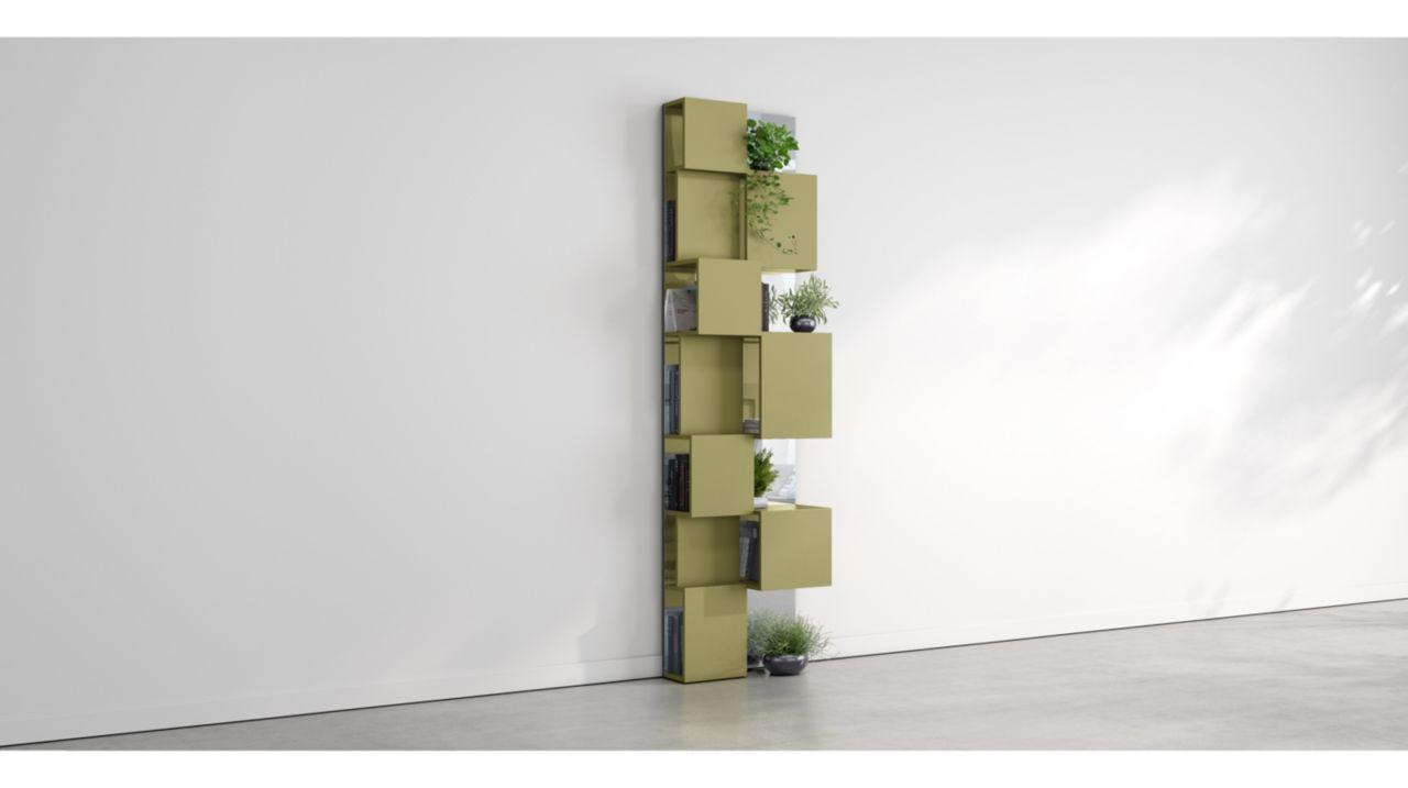 pixl miroir bookcase roche bobois. Black Bedroom Furniture Sets. Home Design Ideas