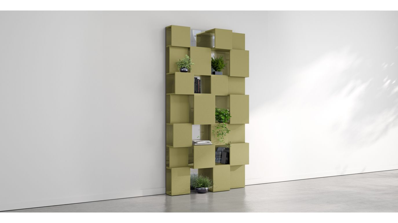 libreria pixl miroir roche bobois. Black Bedroom Furniture Sets. Home Design Ideas