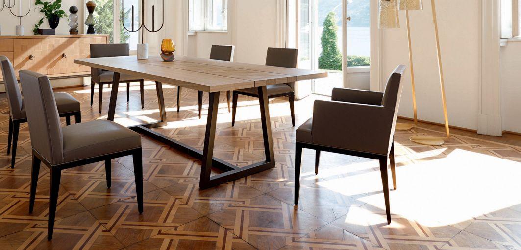 Epoq bridge nouveaux classiques collection roche bobois - Roche bobois table salle a manger ...