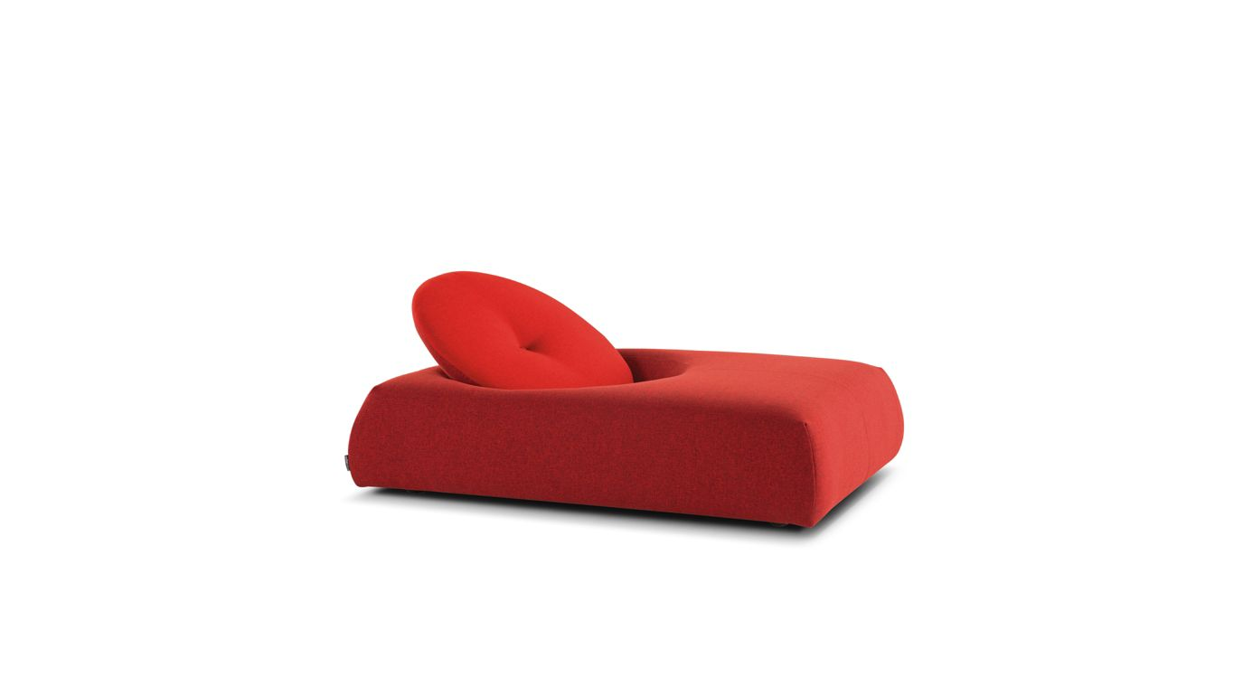 Macaron lounge chair roche bobois for Chaise longue roche bobois