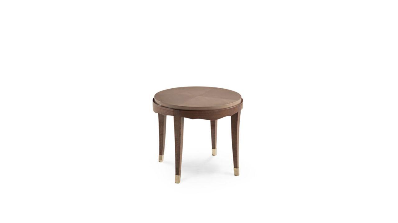 Grand hotel pedestal table nouveaux classiques collection roche bobois - Gueridon roche bobois ...