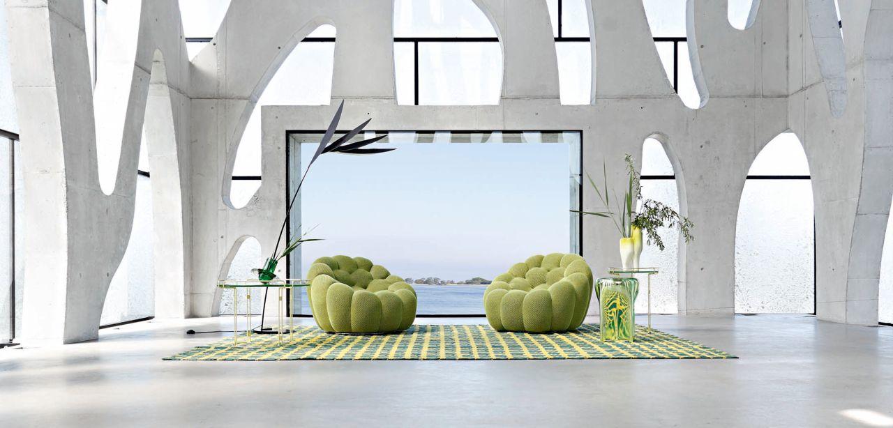 bubble fauteuil pivotant roche bobois. Black Bedroom Furniture Sets. Home Design Ideas