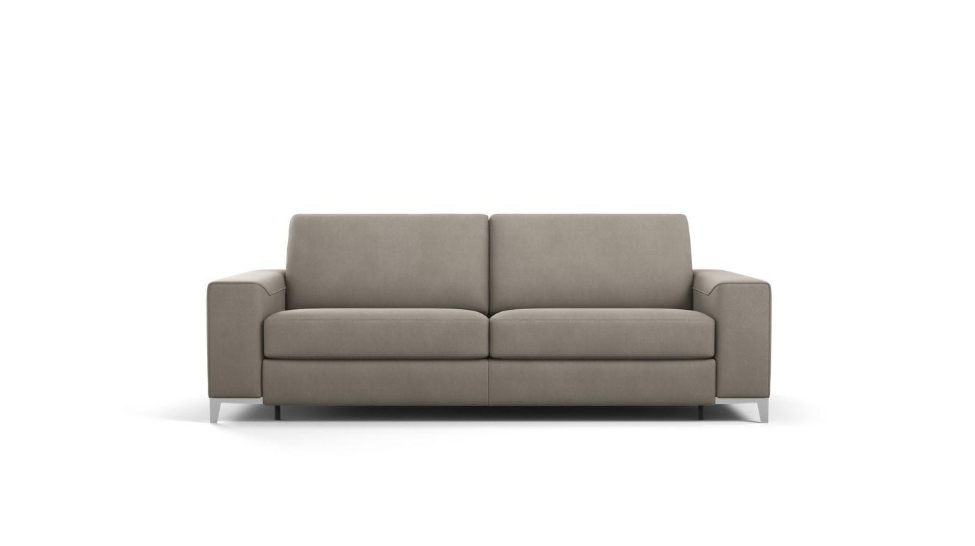 Detente 3 seat sofa bed calisto armrest roche bobois - Canape cuir rouge roche bobois ...