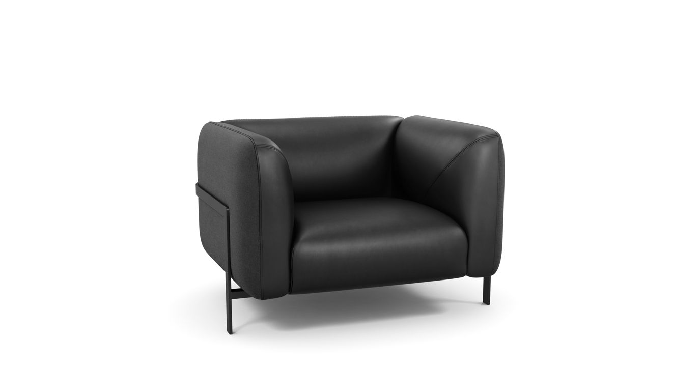 lobby armchair roche bobois. Black Bedroom Furniture Sets. Home Design Ideas