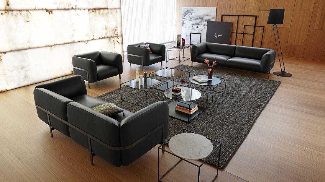 Lobby large 3 seat sofa roche bobois - Sofa rock en bobois ...