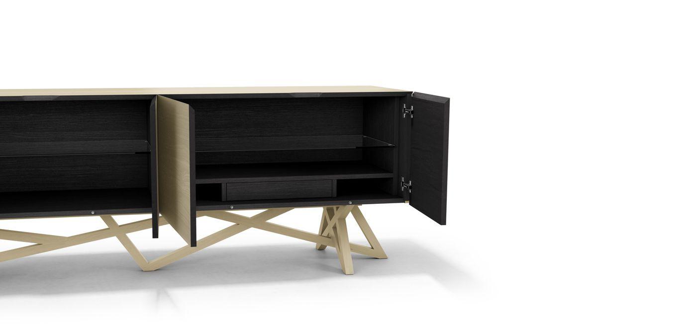 saga 2 buffet roche bobois. Black Bedroom Furniture Sets. Home Design Ideas