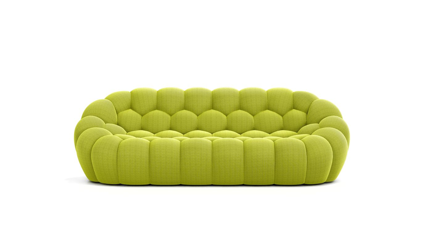 Bubble large 3 seat sofa roche bobois for Canape en solde roche bobois