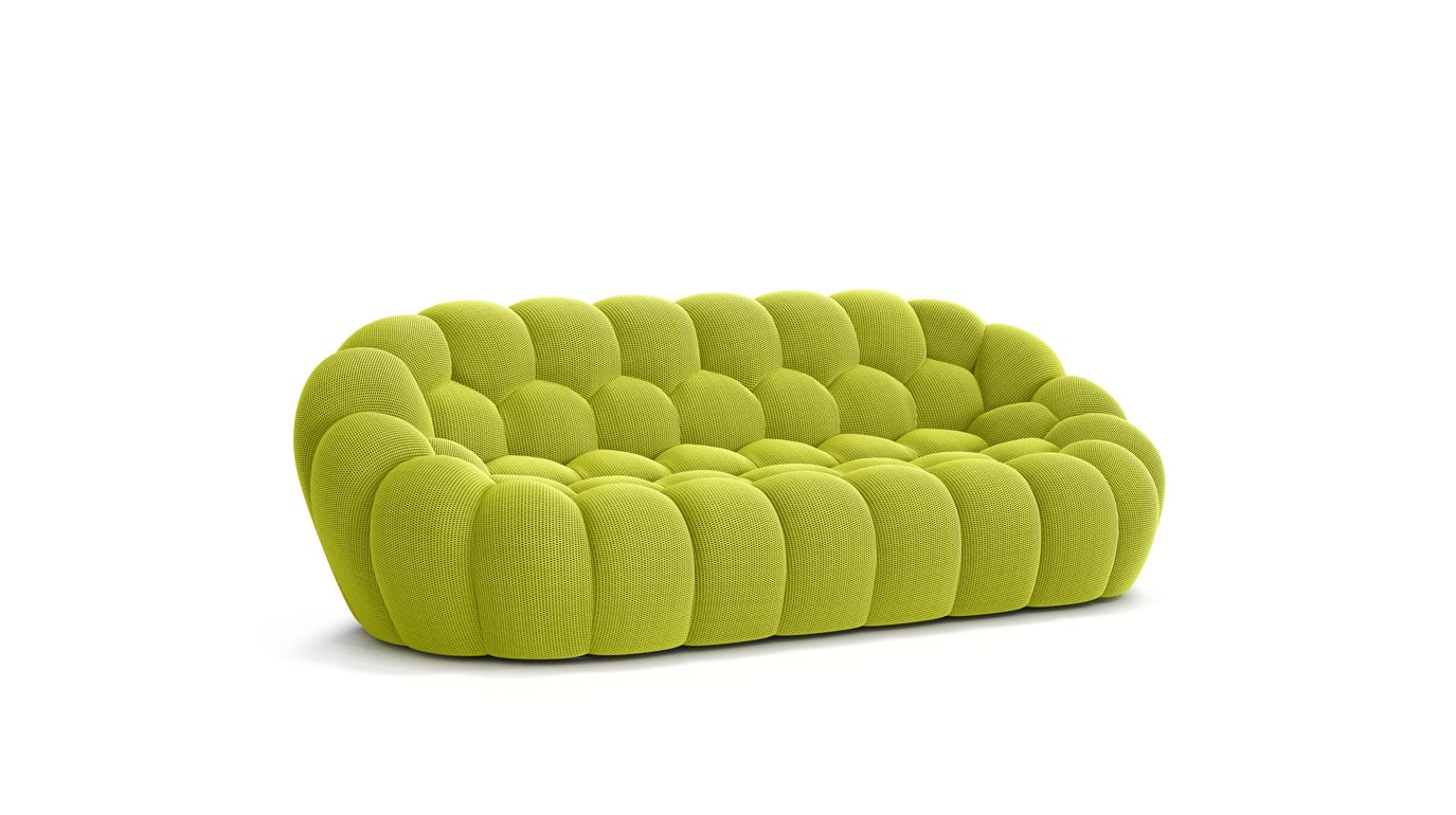 Grand canap 3 places bubble roche bobois - Canape roche et bobois ...