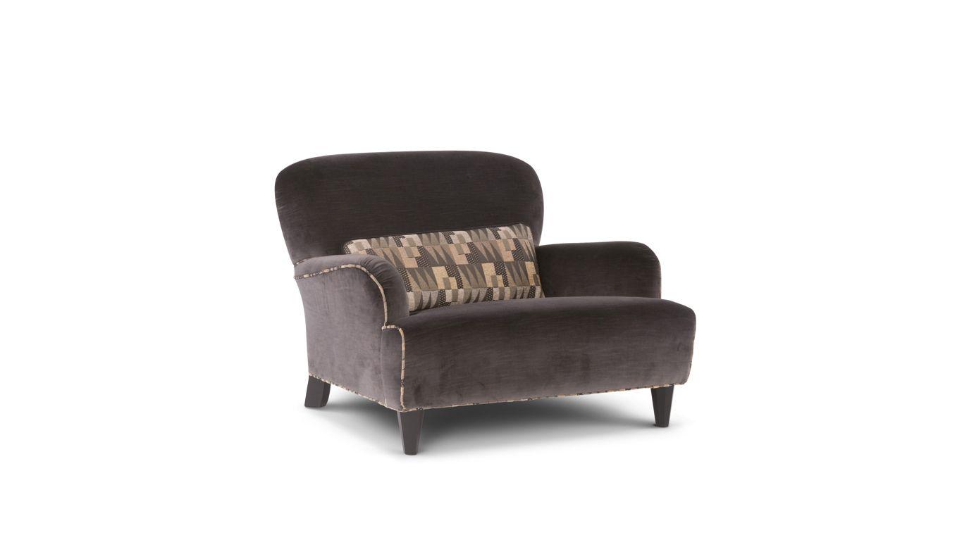 Fauteuil cardamome collection nouveaux classiques roche bobois - Roche bobois fauteuils ...