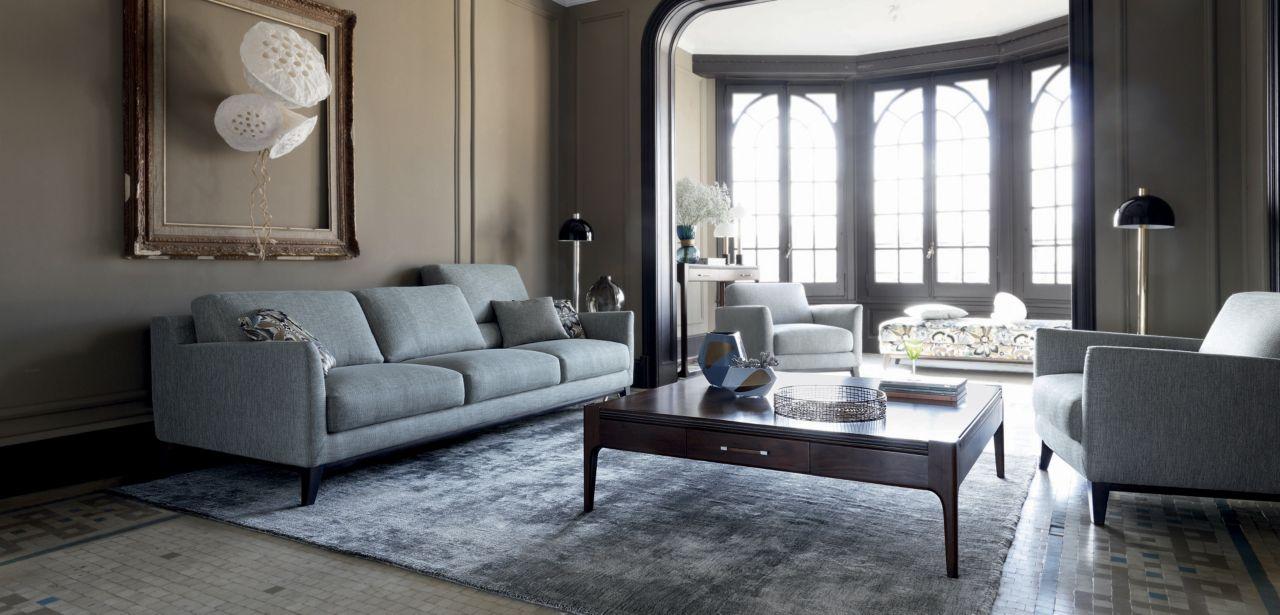 Metaphore Large 3 Seat Sofa Nouveaux Classiques Collection Roche Bobois