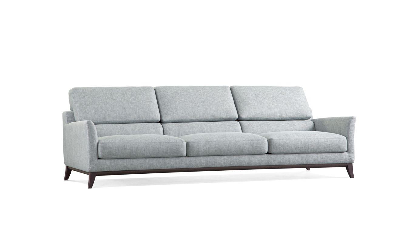 Metaphore large 3 seat sofa nouveaux classiques collection roche bobois - Sofa rock en bobois ...