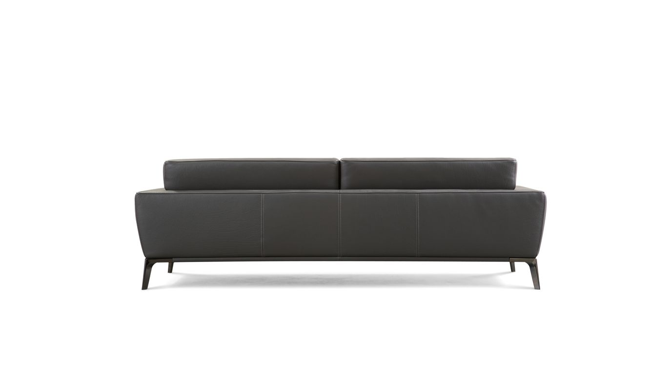 Grand canap 3 places accord roche bobois - Canape cuir roche bobois 3 places ...