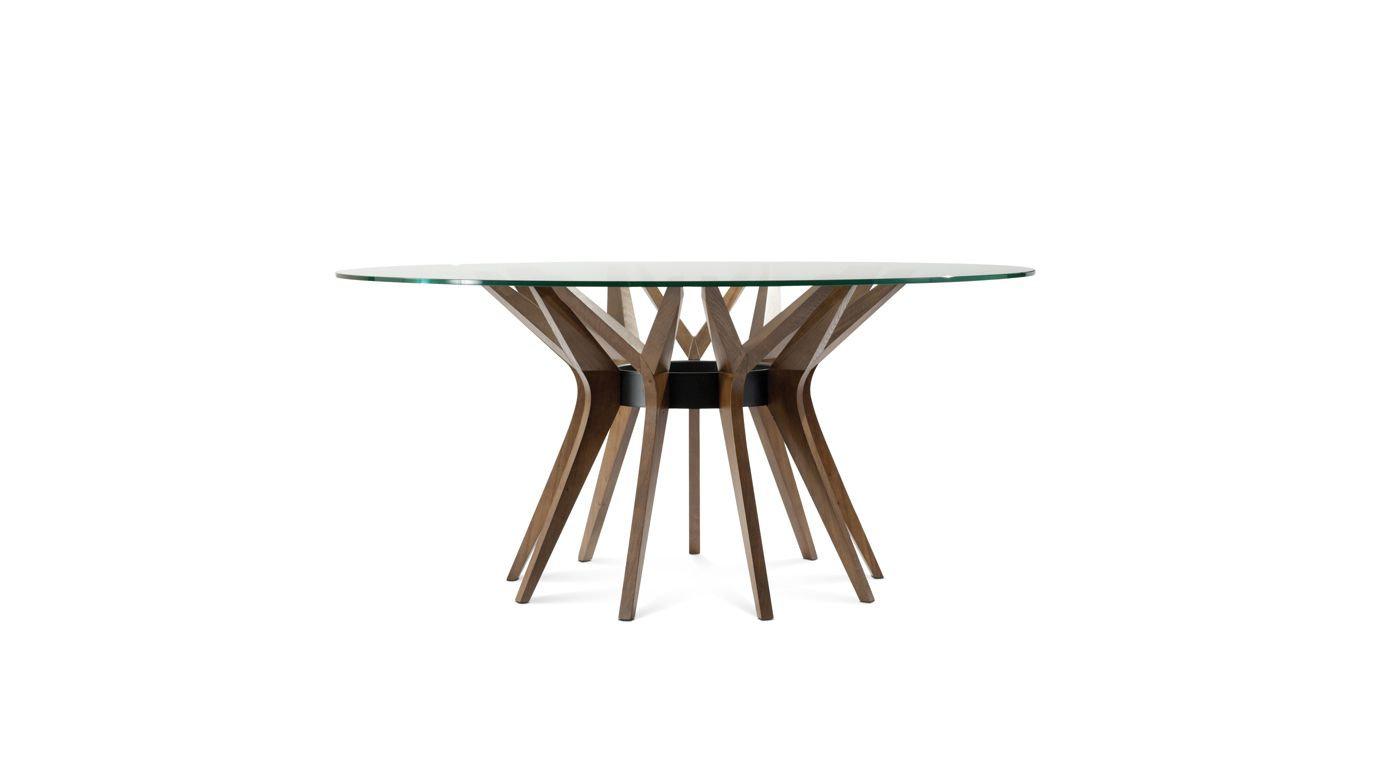 Aster dining table roche bobois for Table ardoise roche bobois