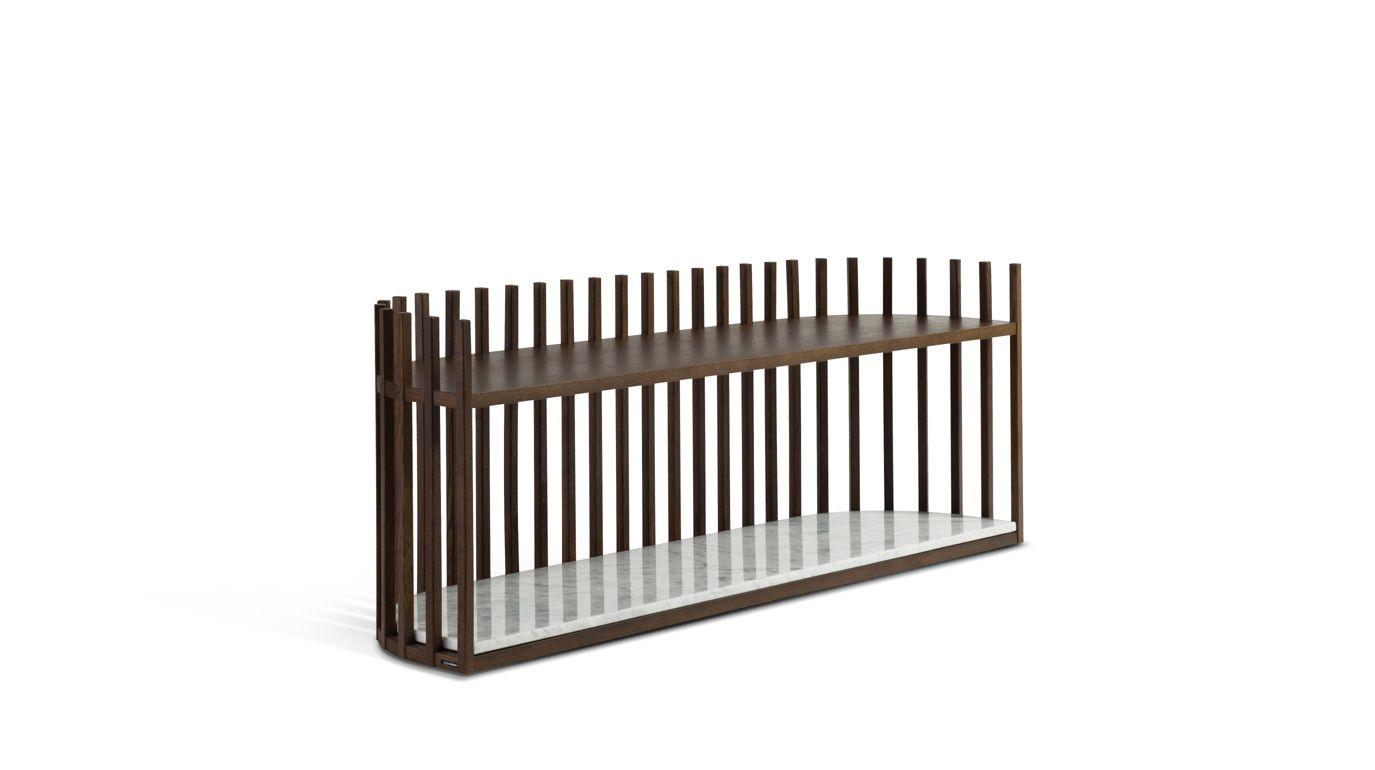 meuble tv jalousie roche bobois. Black Bedroom Furniture Sets. Home Design Ideas
