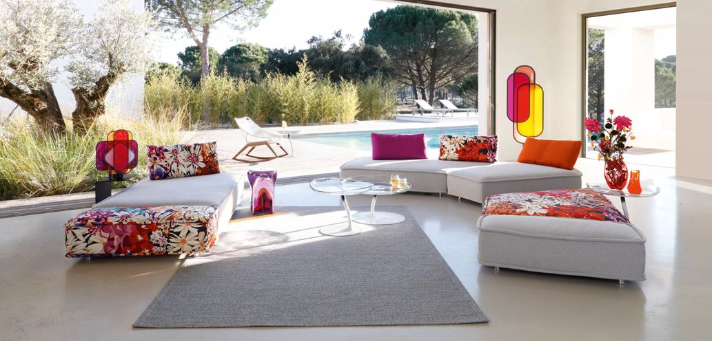 chroma lampe sur pied roche bobois. Black Bedroom Furniture Sets. Home Design Ideas