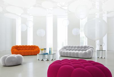 bubble grand canapé 3 places - roche bobois