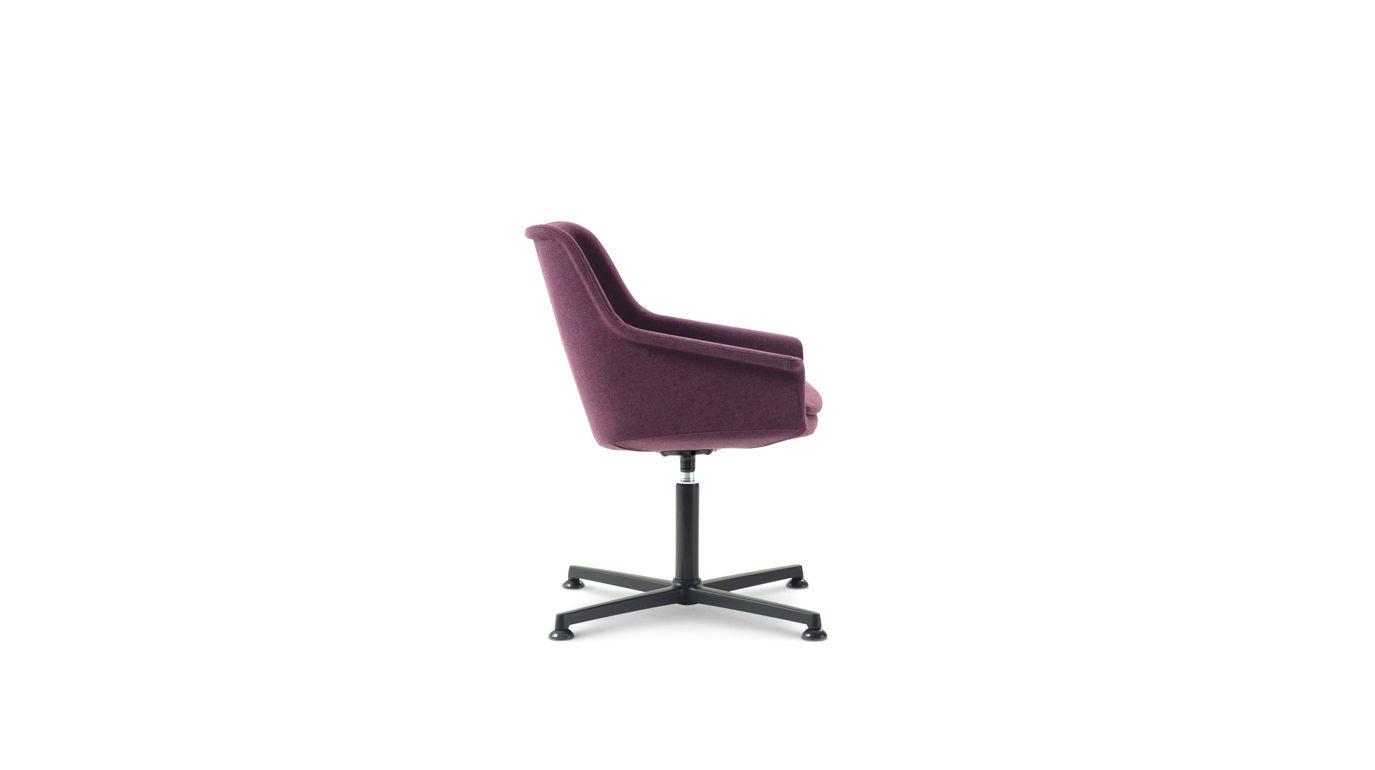 leny fauteuil visiteur roche bobois. Black Bedroom Furniture Sets. Home Design Ideas
