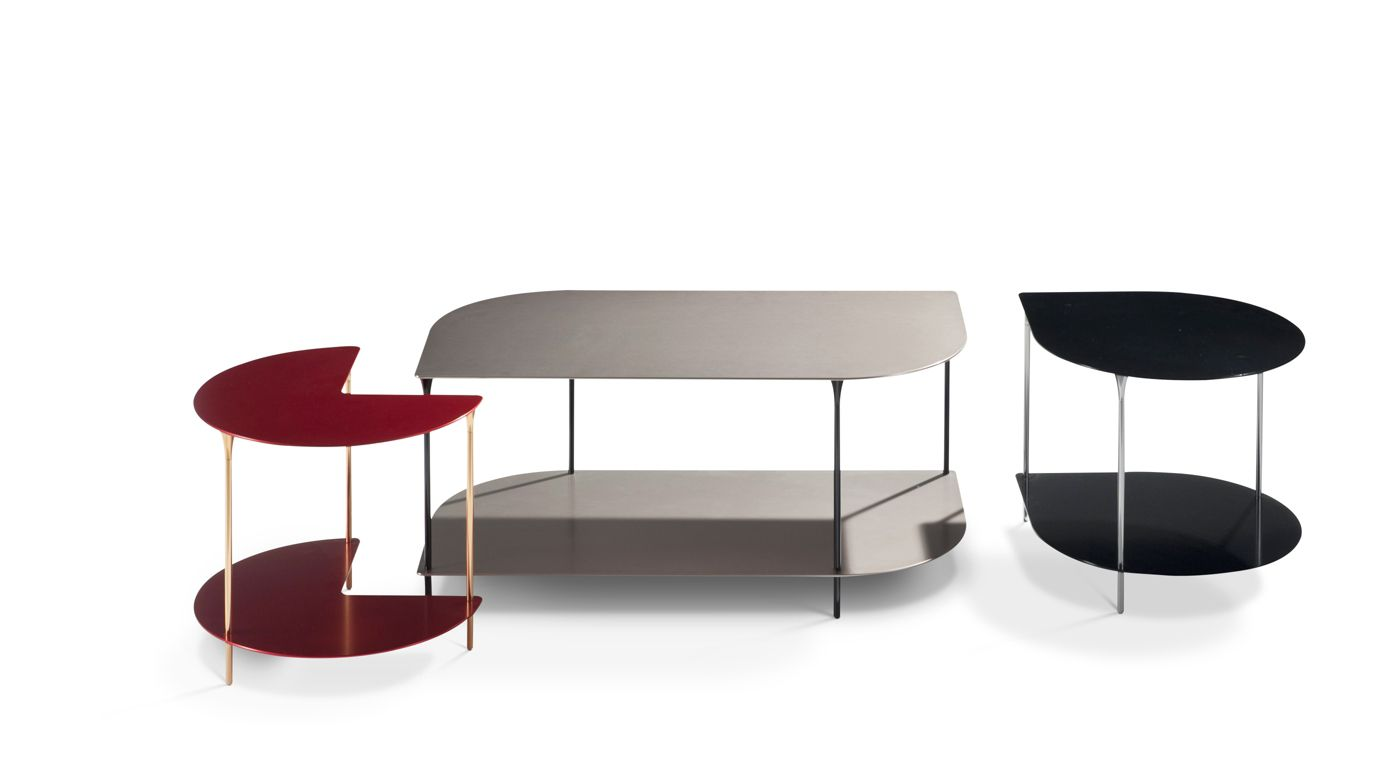 Small cocktail table roche bobois for Small long coffee table