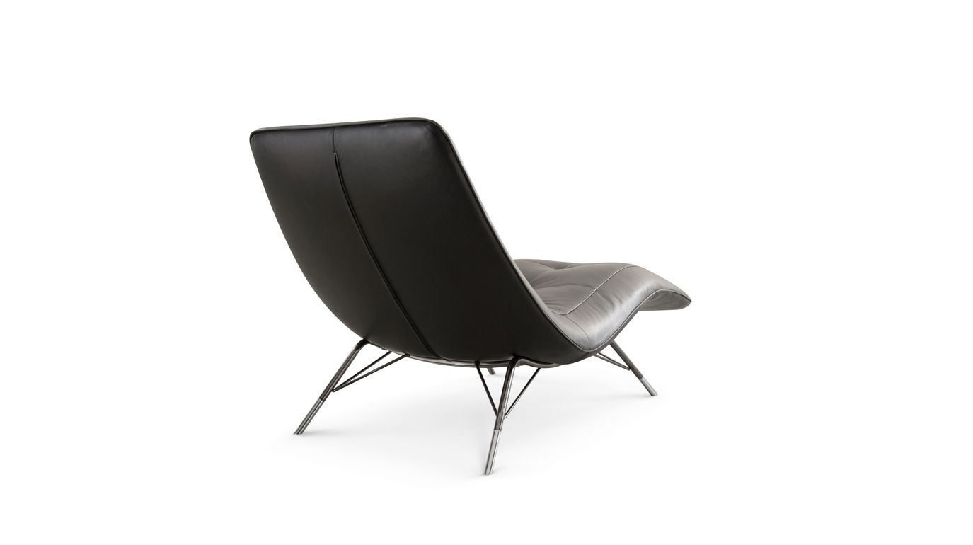 Chaise longue solaris roche bobois for Chaise roche bobois cuir