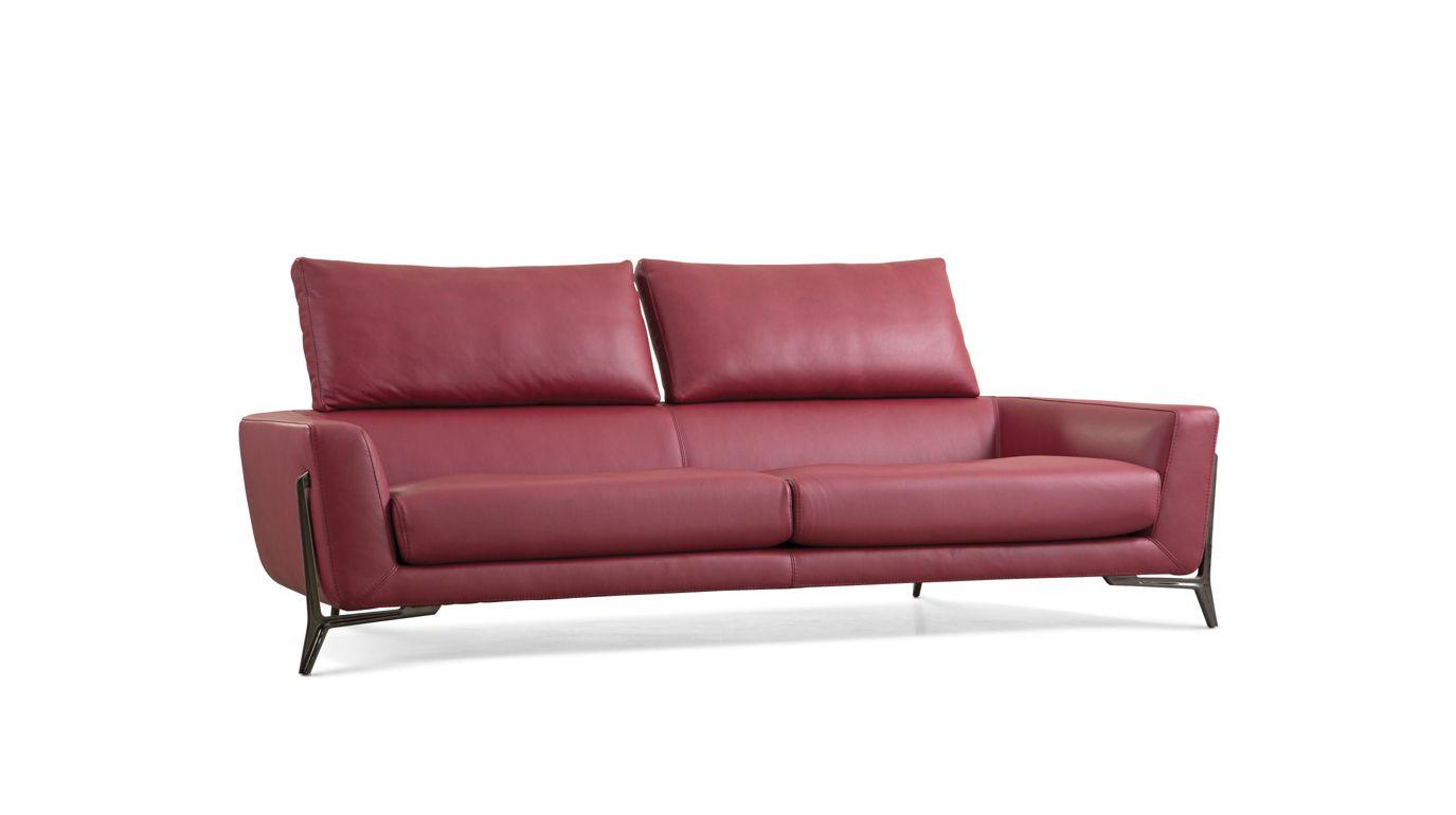 Allusion large 3 seat sofa roche bobois for Canape leather sofa