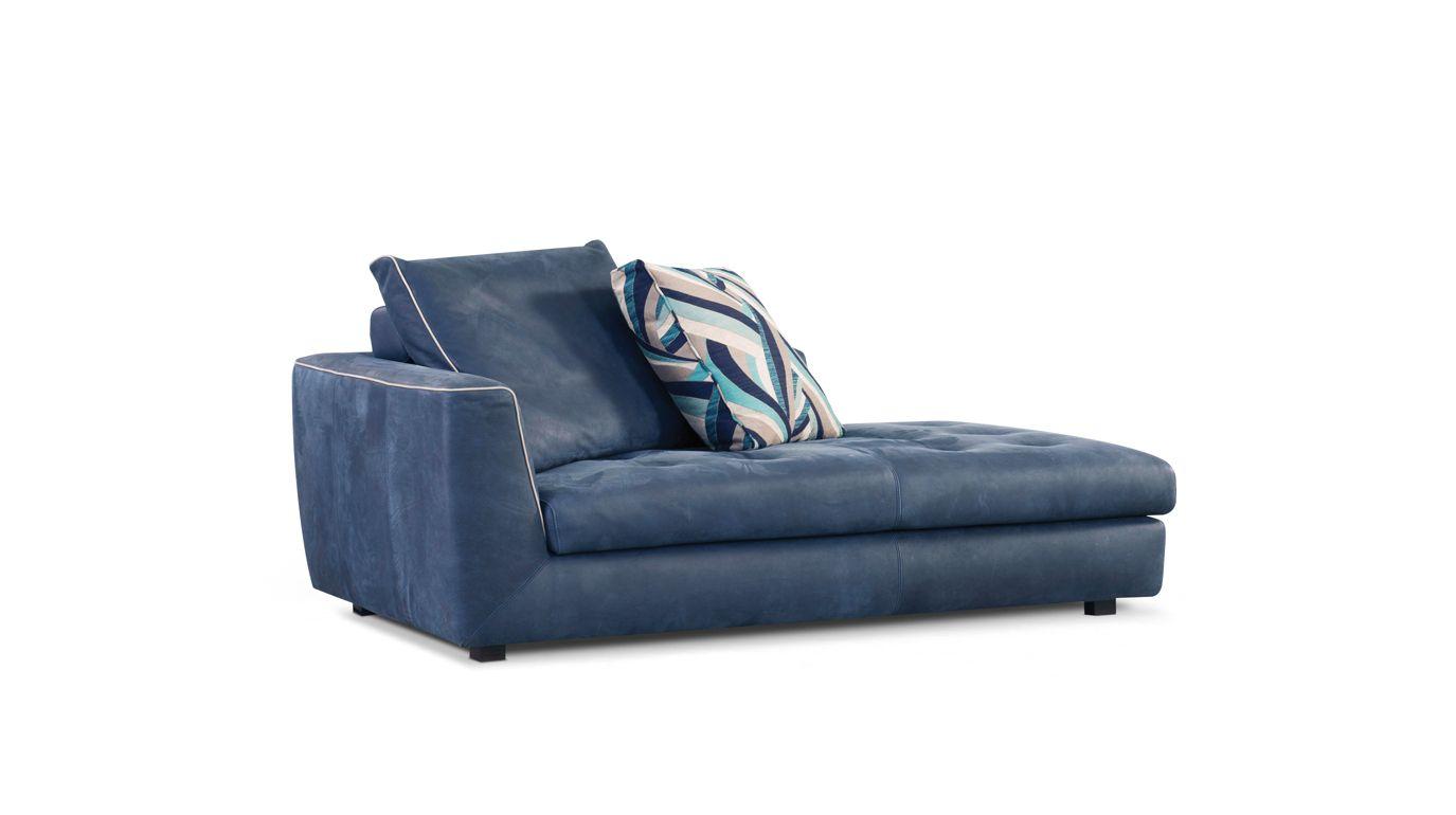 Grande chaise longue uptown collection nouveaux classiques roche bobois - Chaises cuir roche bobois ...