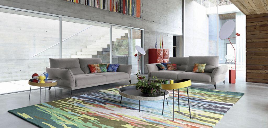 ITINÉRAIRE Large 3-seat sofa - Roche Bobois