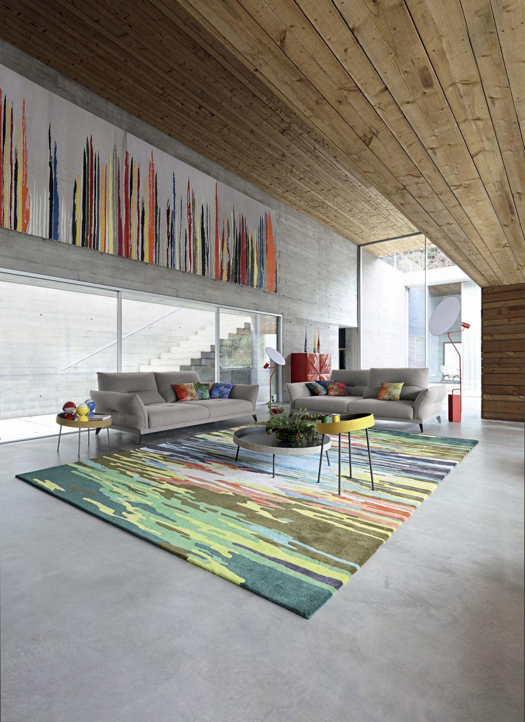 FULL MOON Straight Floor Lamp Roche Bobois