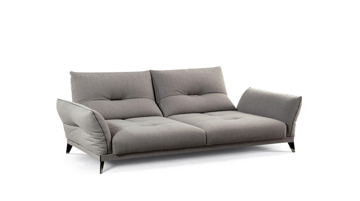 Itin raire large 3 seat sofa roche bobois - Sofa canape difference ...