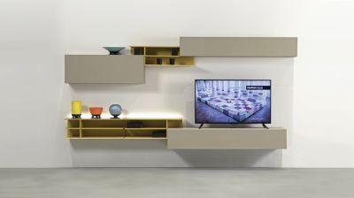 Contact Tv Composition Roche Bobois Meuble Mural Salon Tv Roche  # Composition Murale Roche Bobois