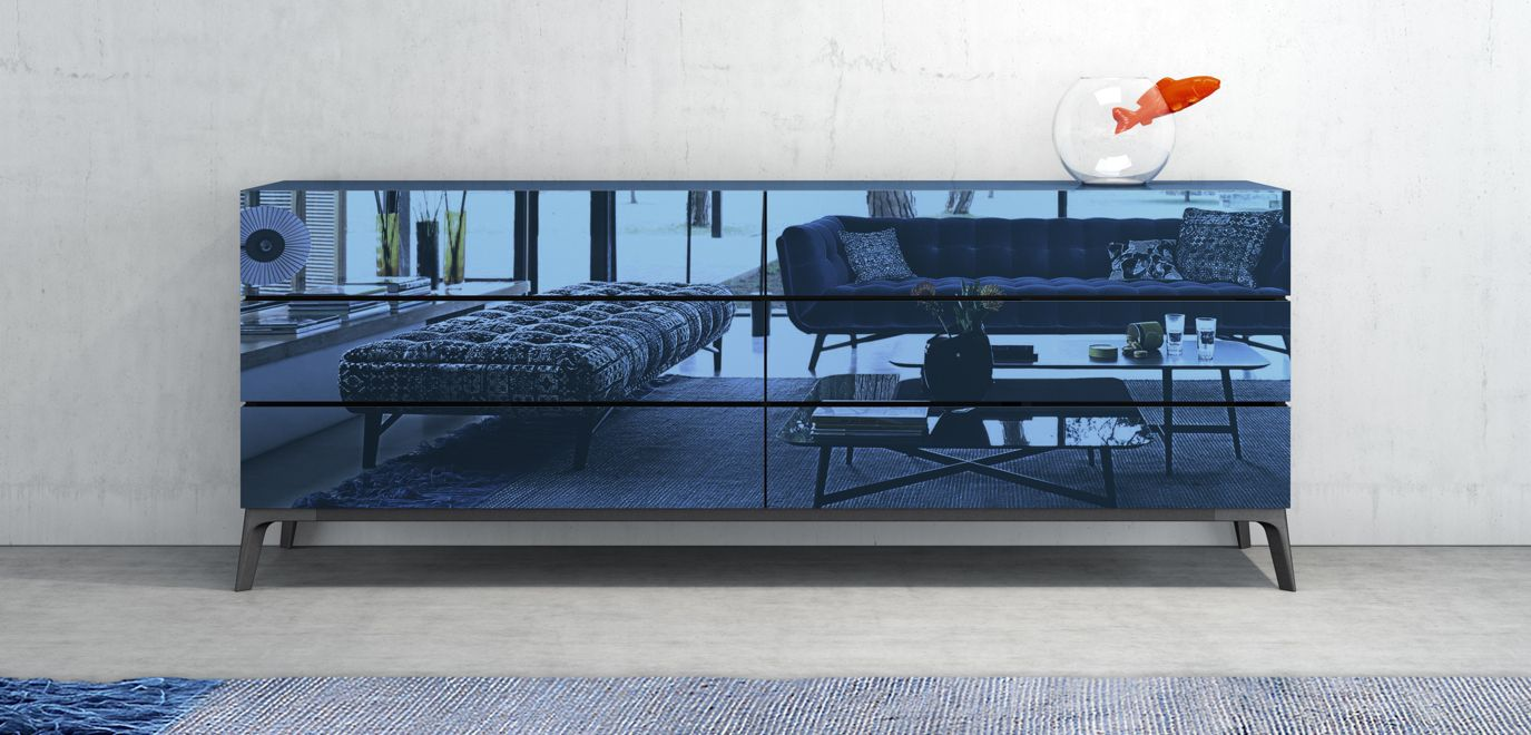 Globo sideboard roche bobois - Buffet contemporain roche bobois ...