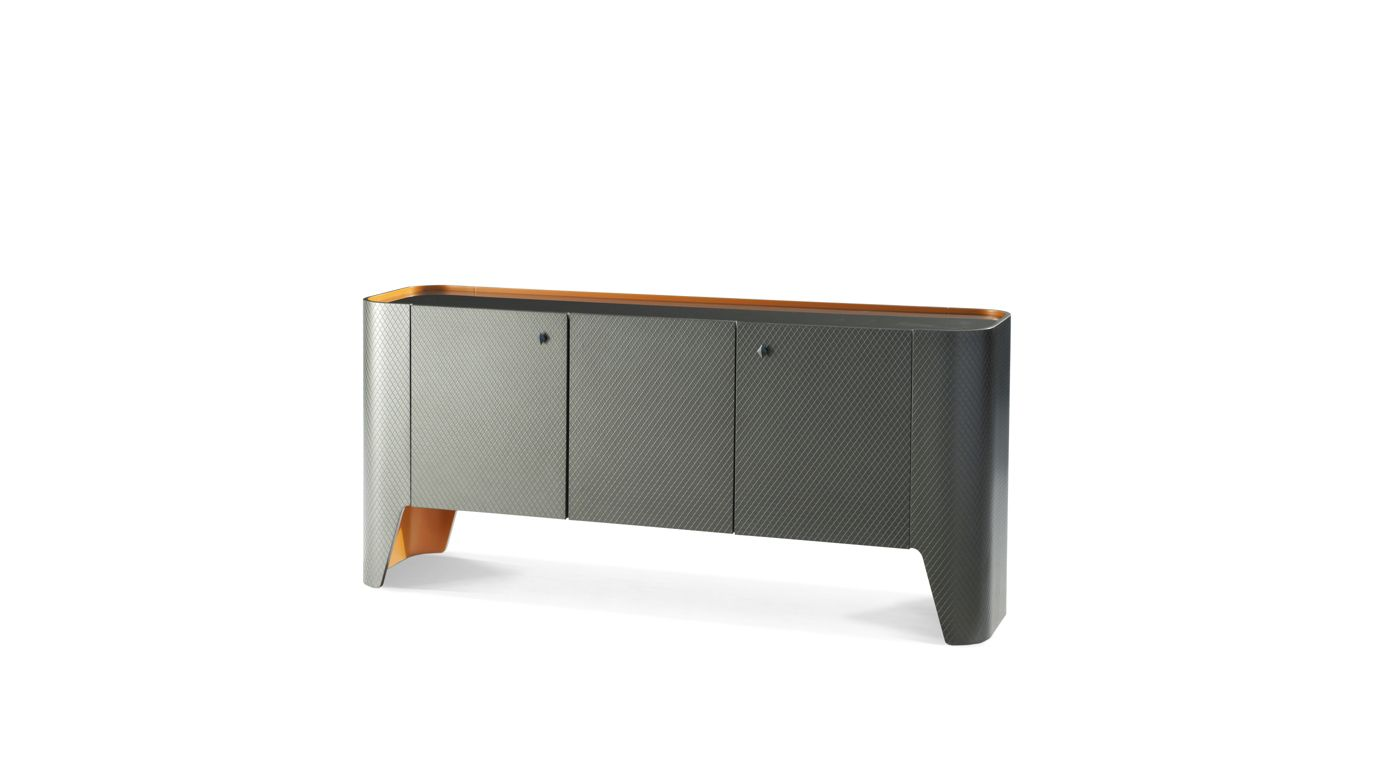 skin sideboard roche bobois. Black Bedroom Furniture Sets. Home Design Ideas