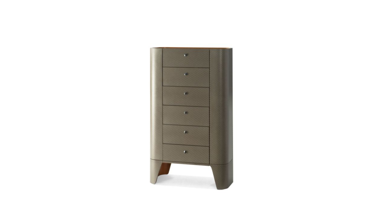 skin tall chest of drawers roche bobois. Black Bedroom Furniture Sets. Home Design Ideas