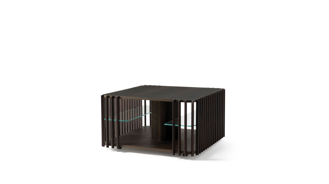 Palis end table roche bobois for Table ardoise roche bobois