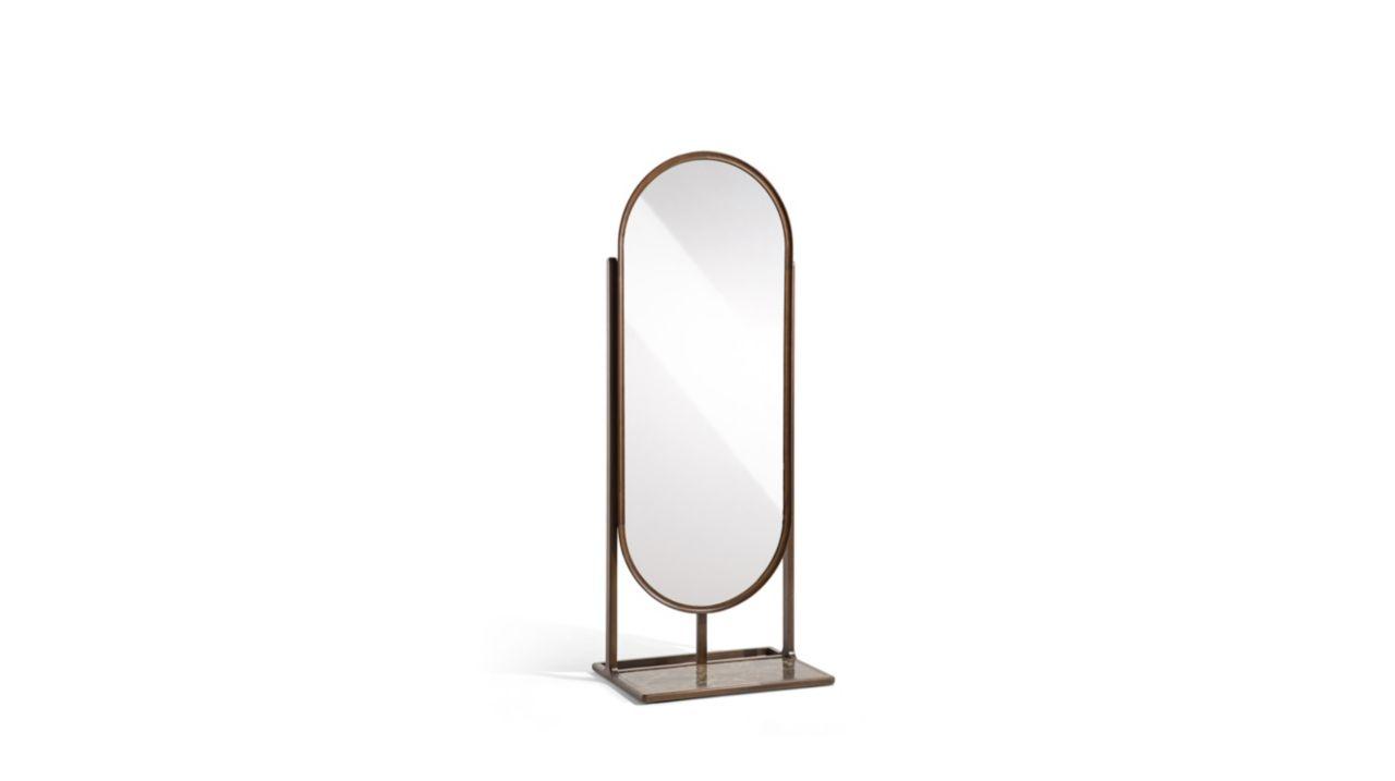 R pertoire miroir collection nouveaux classiques roche bobois for Miroir design roche bobois