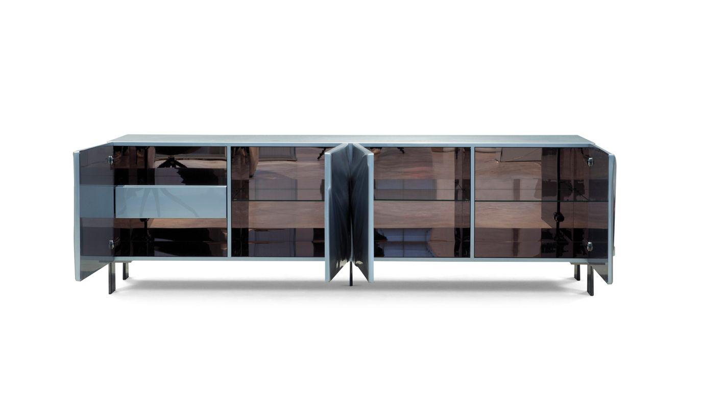 satin sideboard roche bobois. Black Bedroom Furniture Sets. Home Design Ideas