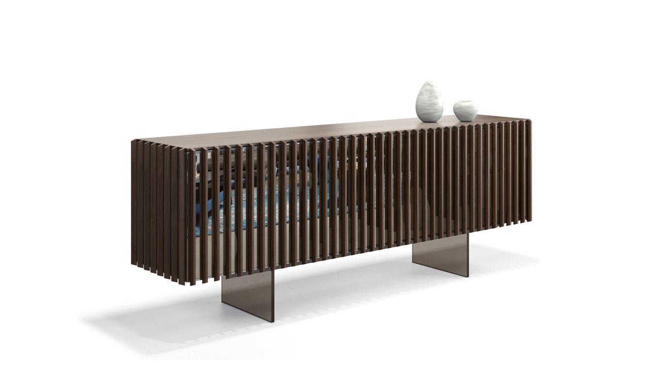 palis sideboard roche bobois. Black Bedroom Furniture Sets. Home Design Ideas
