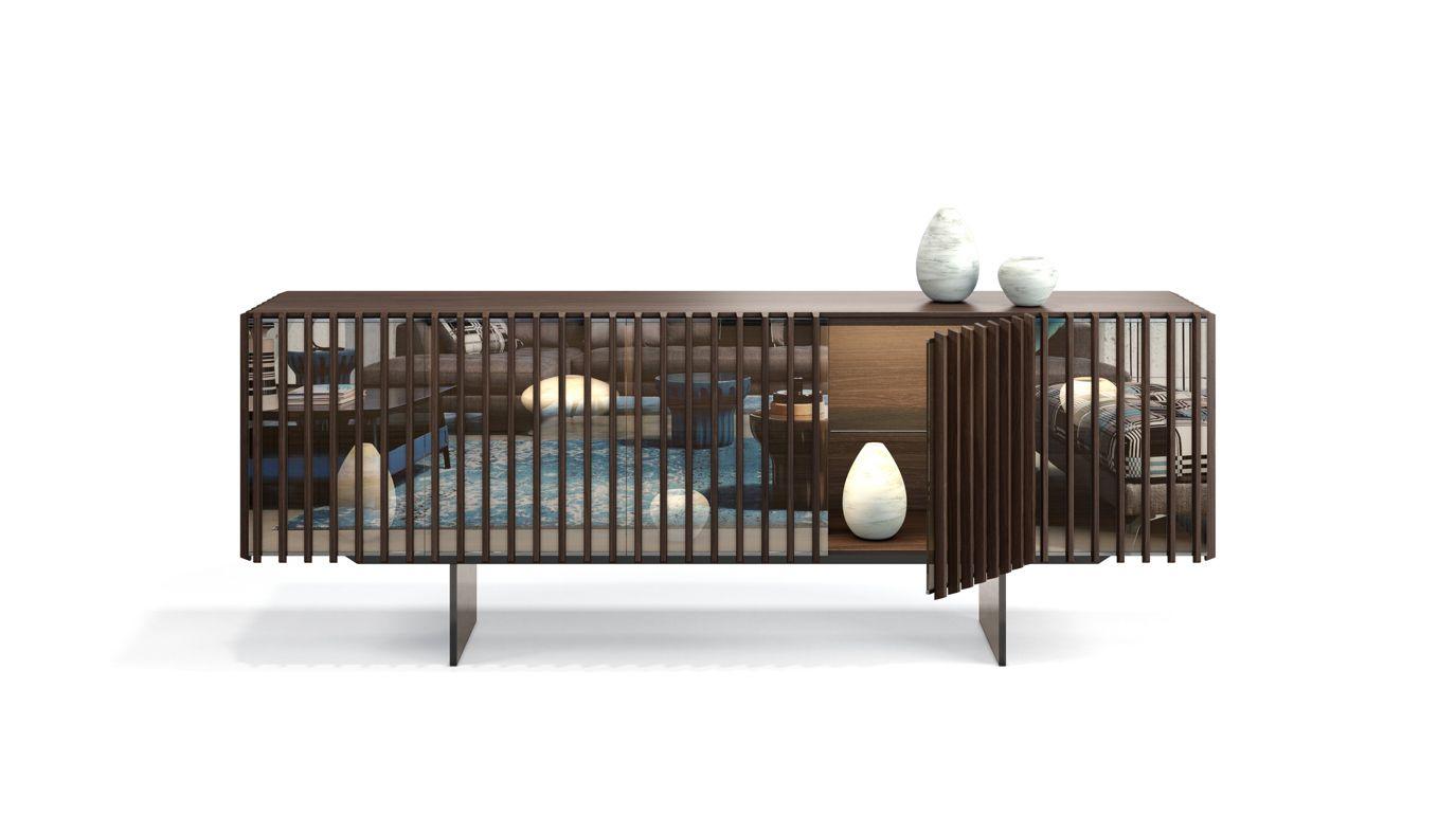 Palis sideboard roche bobois - Buffet contemporain roche bobois ...