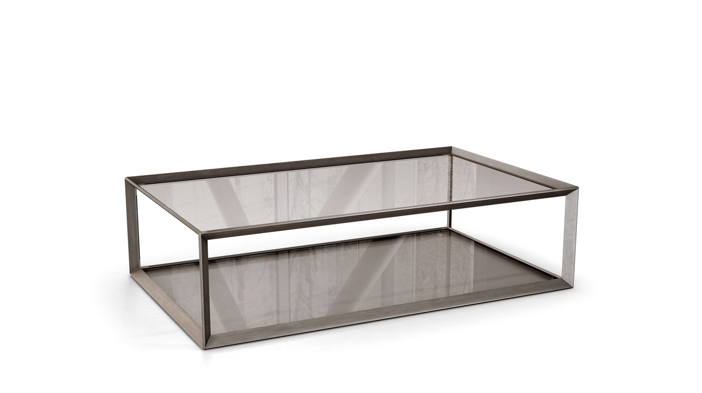 Metallica cocktail table roche bobois - Table ovale marbre roche bobois ...