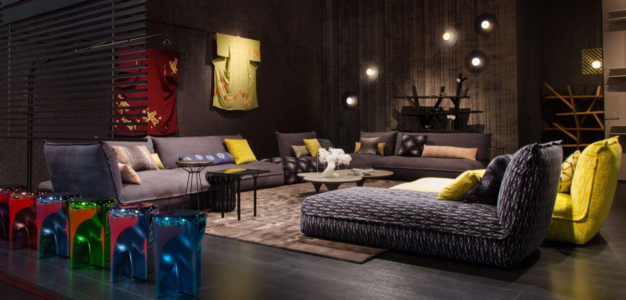 international milan fair 2017 roche bobois. Black Bedroom Furniture Sets. Home Design Ideas
