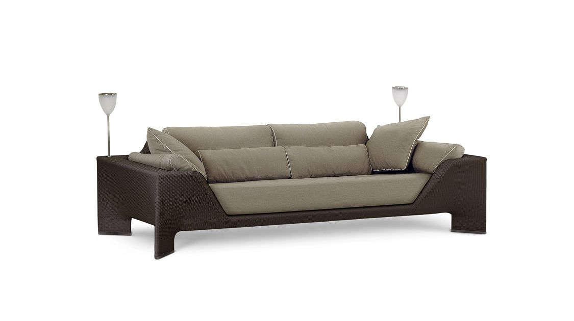 bel air gro es 3 sitzer sofa roche bobois. Black Bedroom Furniture Sets. Home Design Ideas