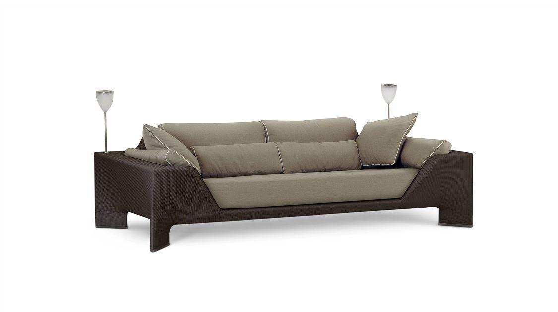 bel air gro es 3 sitzer sofa roche bobois. Black Bedroom Furniture Sets. Home Design Ideas