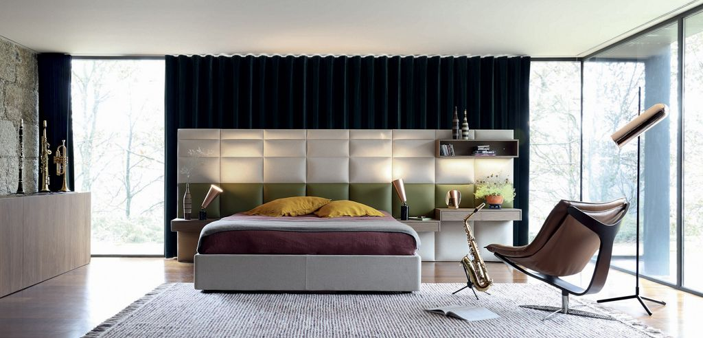 emejing roche bobois letti images. Black Bedroom Furniture Sets. Home Design Ideas