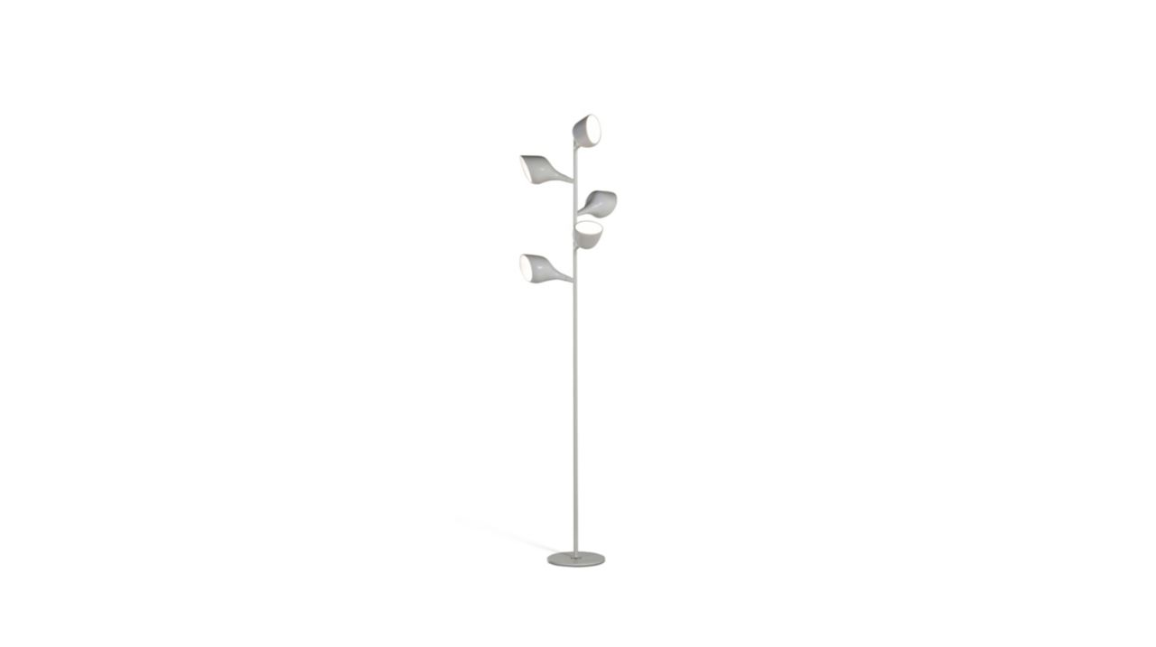 Lampadaire droit 5 lampes tulip roche bobois - Lampadaire roche bobois ...