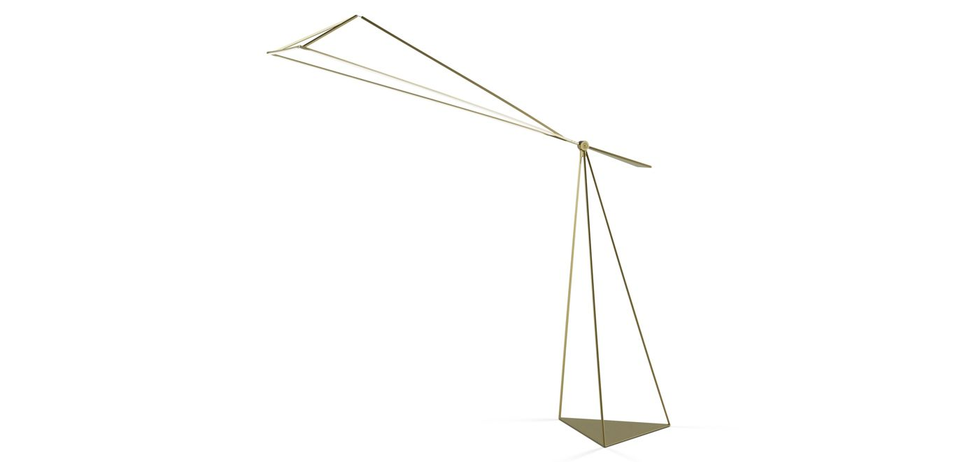 trace lampadaire d port roche bobois. Black Bedroom Furniture Sets. Home Design Ideas